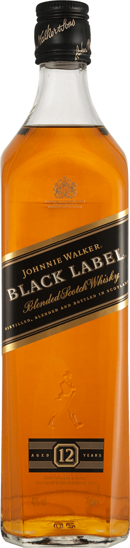 Johnnie Walker Black Label Whisky 40% vol. in Geschenkverpackung32,84? pro l