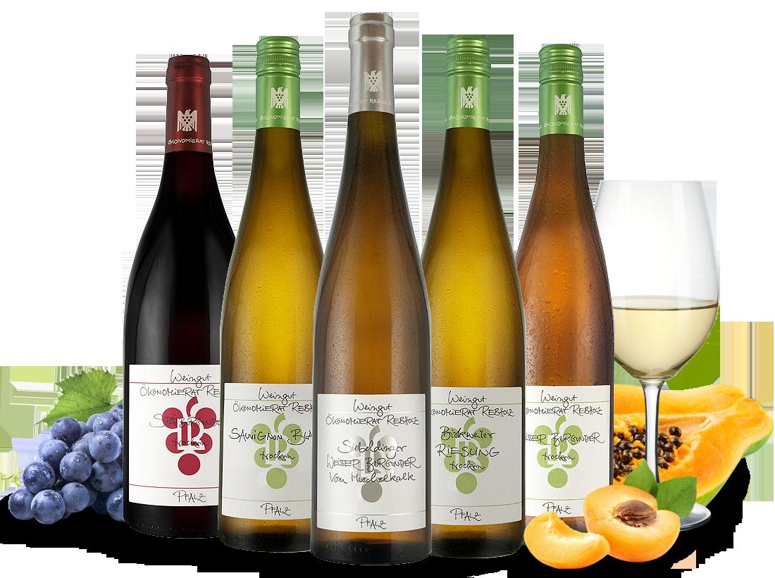 Kennenlernpaket Weingut Rebholz aus der Pfalz20,00? pro l