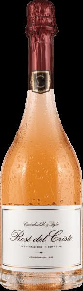 Cavicchioli Rosé del Cristo Metodo Classico Lambrusco di Sorbara Brut DOC