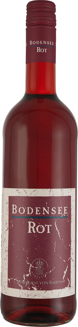 Rotwein Markgraf von Baden Bodensee Rot halbtro...