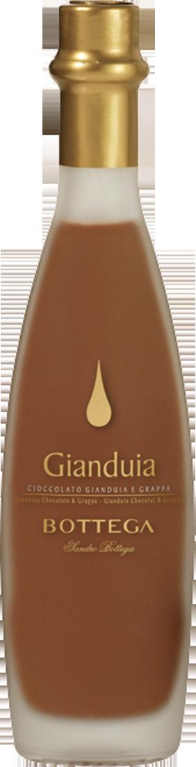 Distilleria Bottega Schokoladen-Likör mit Nougat 17% vol. 0,2l Venetien 42,95? pro l