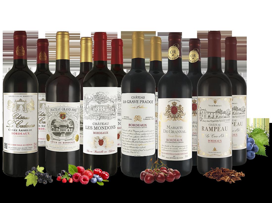 Probierpaket Classic Bordeaux Selection7,77? pro l