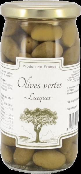 Grüne Oliven Lucques 200 g / 350 g