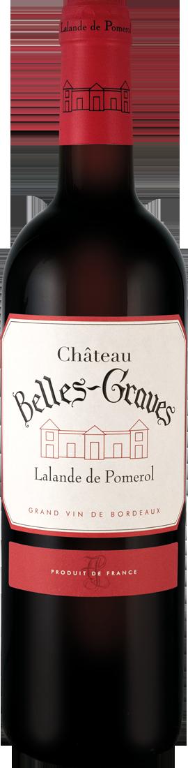 Rotwein Château Belles Graves Lalande-de-Pomerol AOC Bordeaux 26,53? pro l