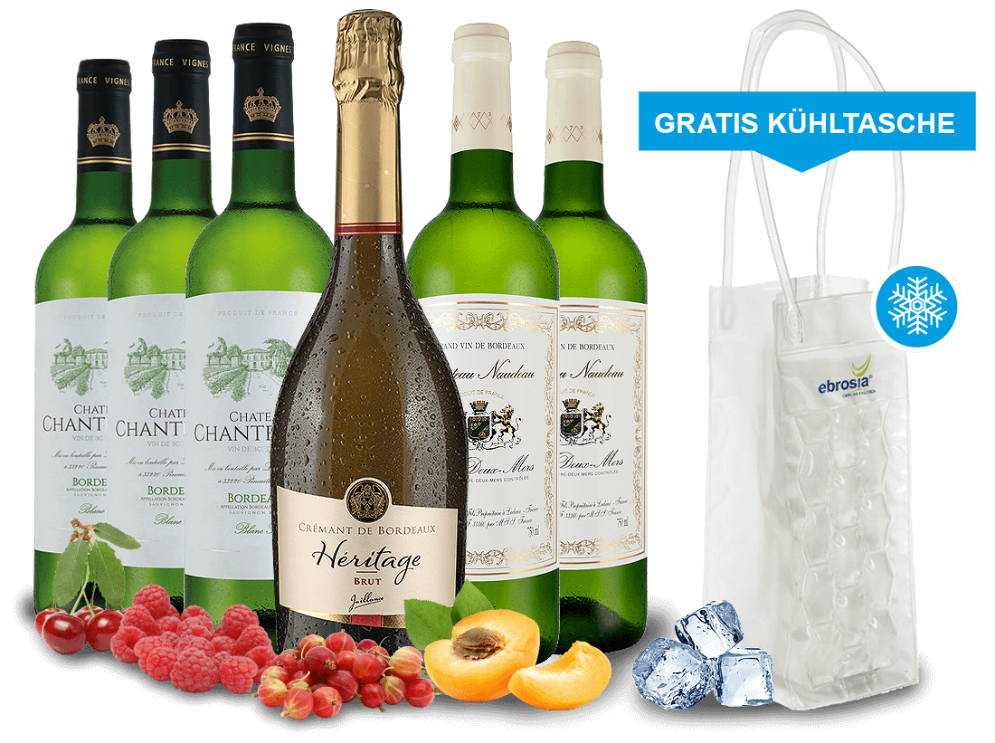 Ruhland Angebote Probierpaket Bordeaux Weißweine inkl. Crémant8,89€ pro l