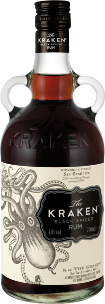 The Kraken Rum Black Spiced 40% vol.
