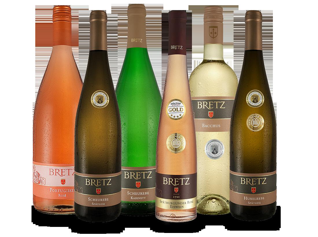 Ernst Bretz Wein-Probierpaket lieblich & süß10,...