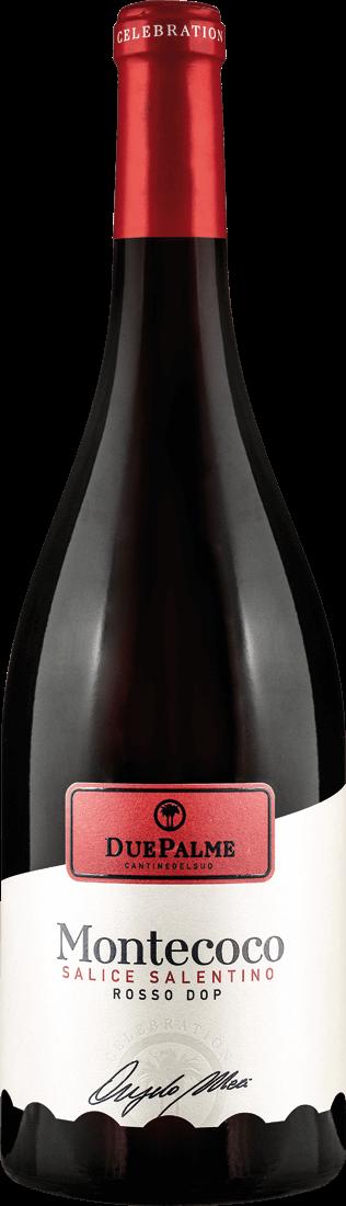 Rotwein Cantine Due Palme Salice Salentino Montecoco DOP Apulien 11,05? pro l