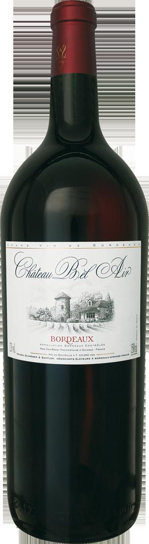 Rotwein Château Bel Air Bordeaux 1,5l Magnum Bordeaux 11,33? pro l