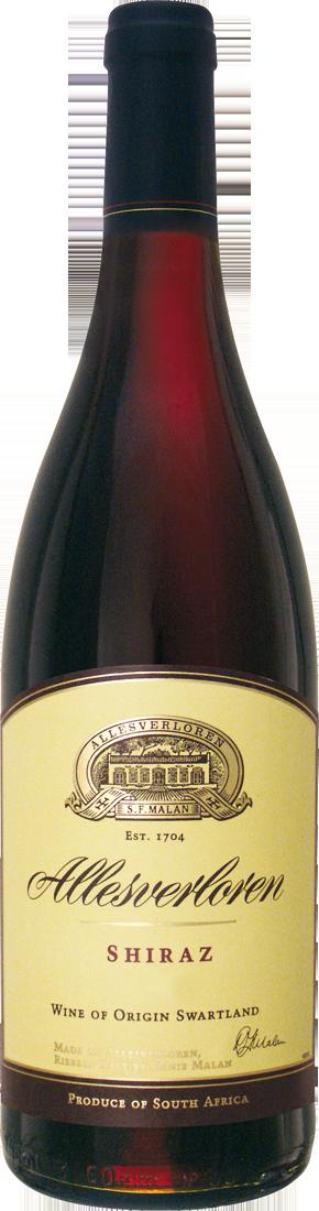 Rotwein Allesverloren Shiraz Swartland 15,99€ pro l