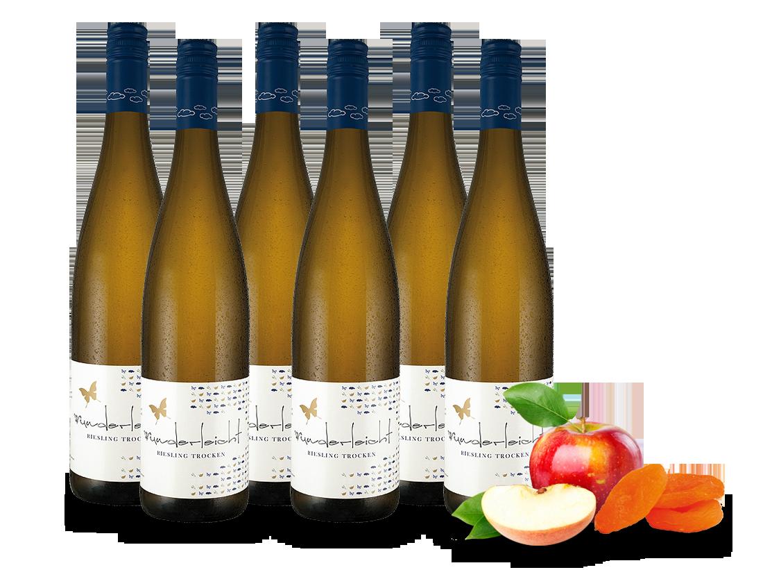 Vorteilspaket 6 Fl. Botzet Riesling Wunderleicht7,76? pro l