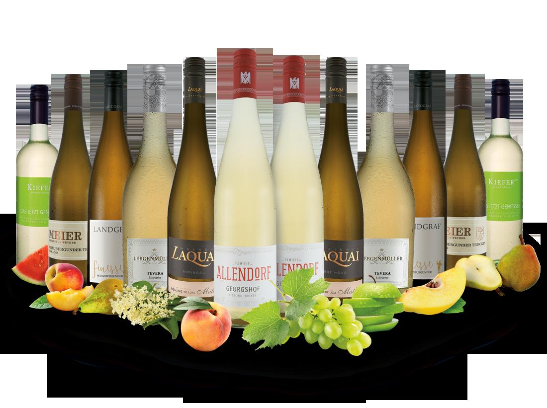 Best of Deutschland Weißwein Entdeckerpaket8,33? pro l