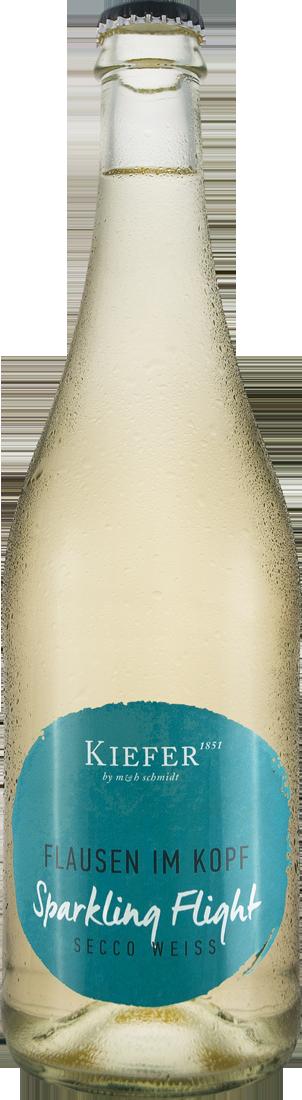 Weißwein Kiefer Secco Weiß Sparkling Flight Flausen im Kopf Baden 9,32€ pro l