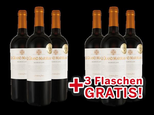 Vorteilspaket 6 für 3 Joseph Castan Le Grand Marselan