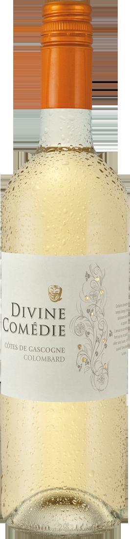 Weißwein Colombard Divine Comédie Côtes de Gascogne IGP Gascogne 6,39€ pro l