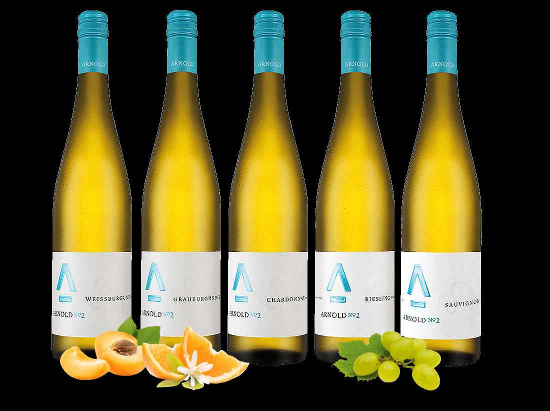 Kennenlernpaket Weingut Arnold aus der Pfalz8,8...