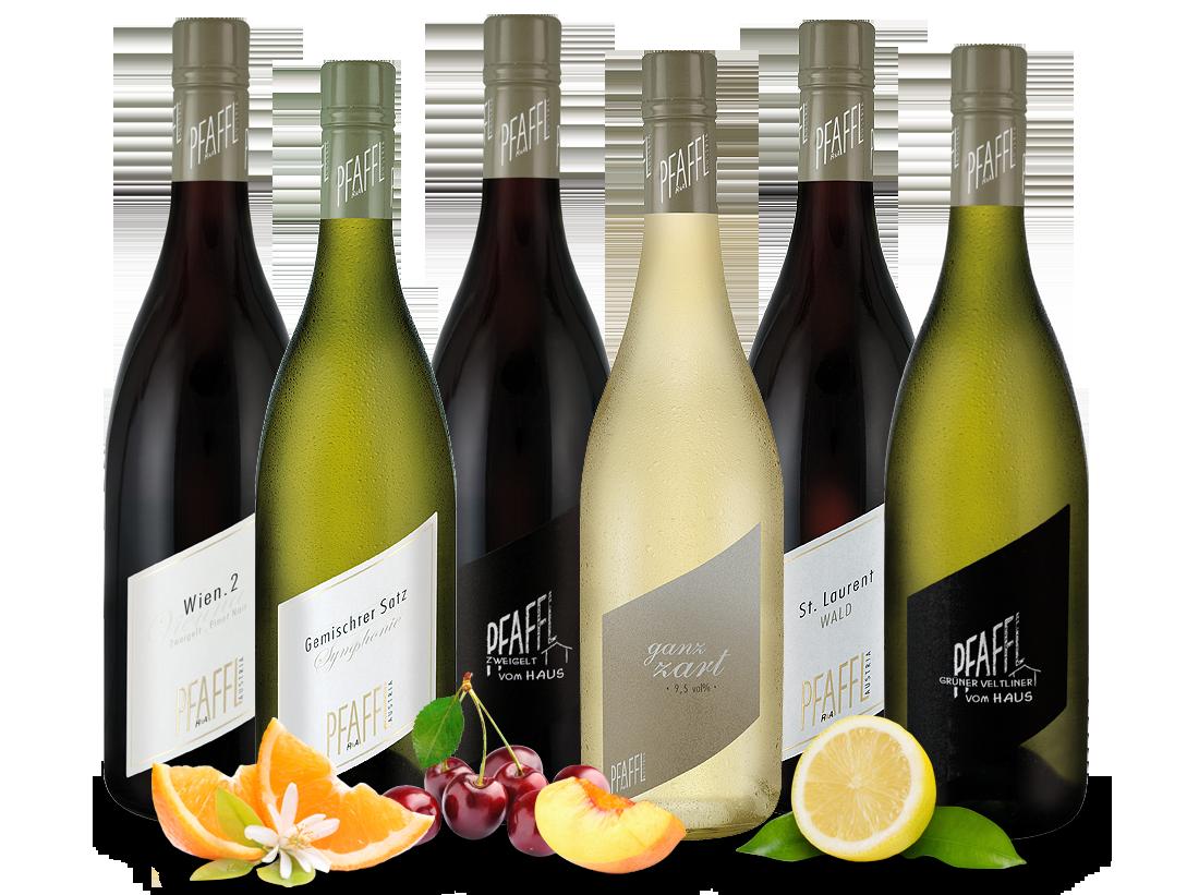 Kennenlernpaket Weingut R&A Pfaffl aus Österreich10,00? pro l