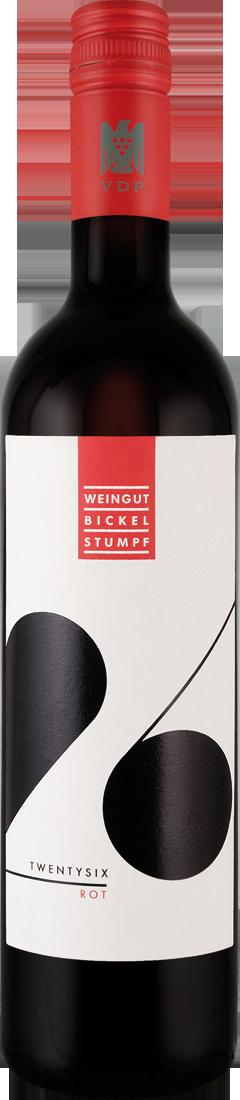 Rotwein Bickel-Stumpf TWENTYSIX rot VDP.Gutswein Pfalz 12,79? pro l
