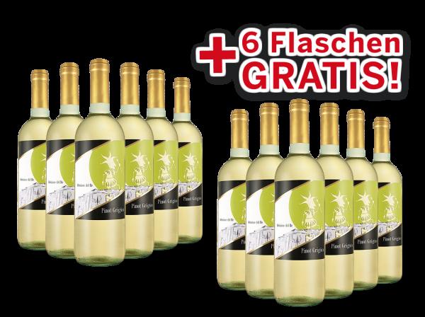 Vorteilspaket 12 für 6 Agricole Selvi Pinot Grigio Selezione del Re