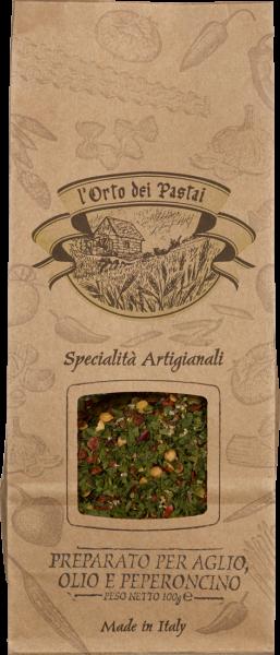 Antico Pastificio Umbro Le Spezie Gewürz Aglio Olio Peperoncino 100 g
