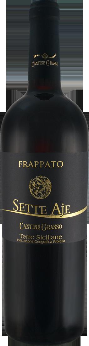 Rotwein Feudo Solarìa - Cantine Grasso Frappato Sette Aje IGP Sizilien 8,65? pro l