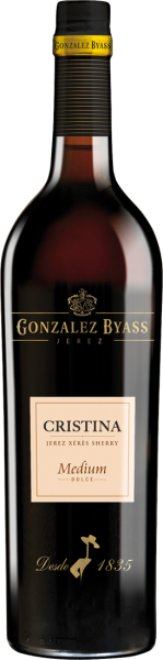González Byass Christina Sherry Medium 17,5% vol.