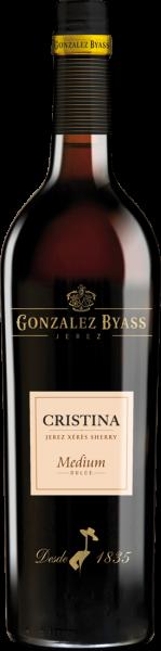 González Byass Cristina Sherry Medium 17,5% vol.