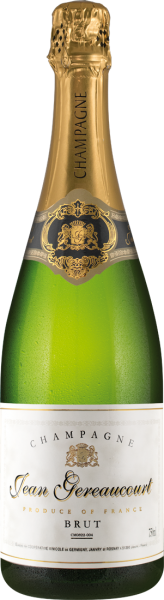 Champagner Jean Gereaucourt Blanc de Noirs Brut AOC