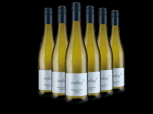 Vorteilspaket Mehrlein Rheingau Riesling hoch M mit 6 Flaschen