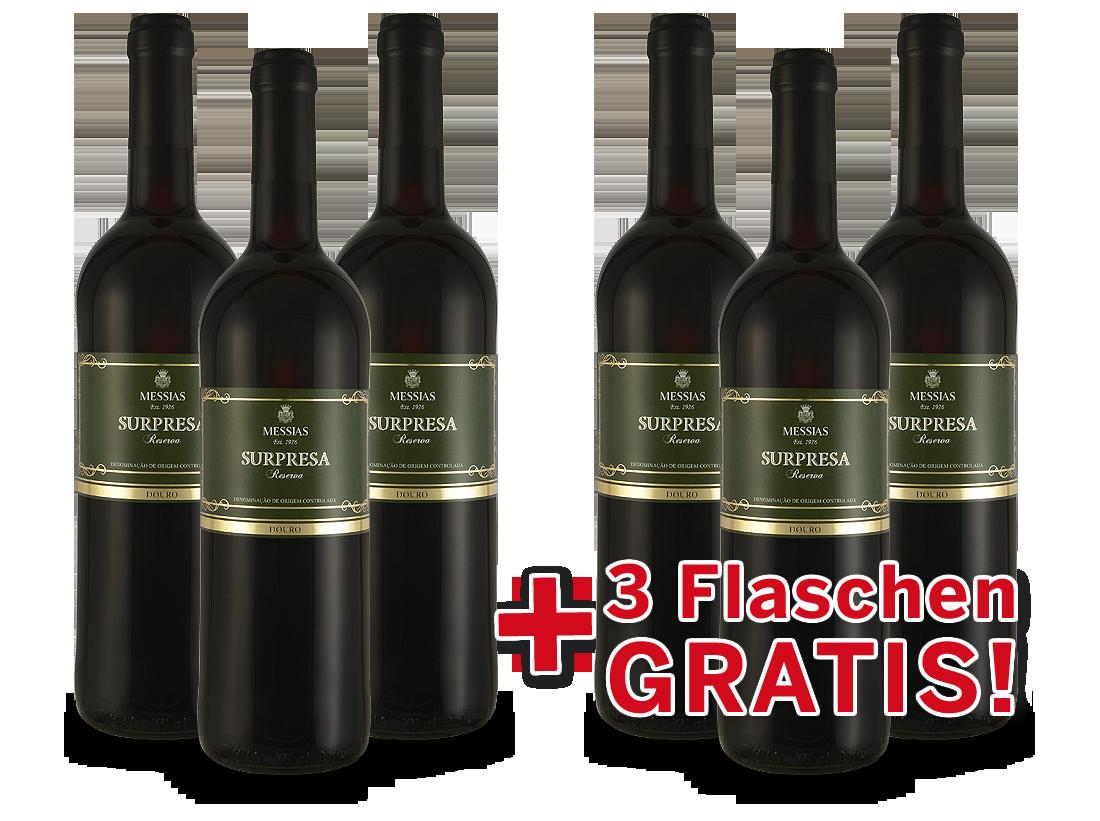 Vorteilspaket 6 für 3 Messias Surpresa Reserva Douro7,99? pro l
