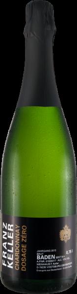 Franz Keller Zero Dossage Chardonnay Sekt brut nature