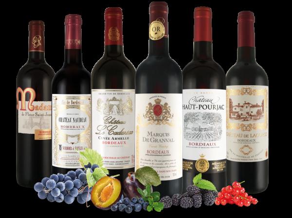 Bordeaux-Schätze von kleinen Châteaux