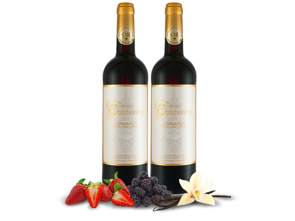 Kennenlernpaket 2 Flaschen Château Chantemerle Bordeaux AOC