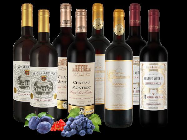 Freundschaftspaket Französische Bordeaux-Weine