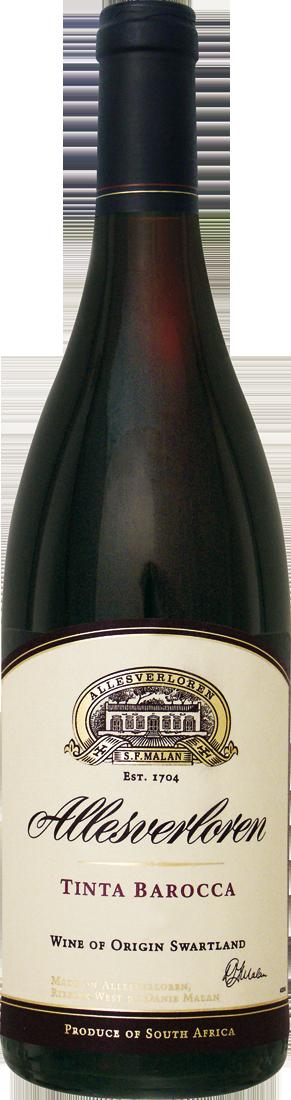 Rotwein Allesverloren Tinta Barocca Swartland 15,72€ pro l