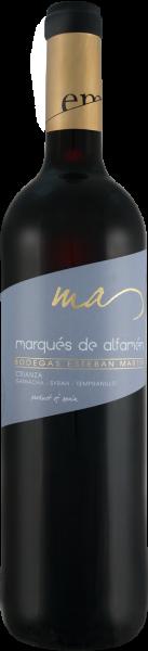 Bodegas Esteban Martín Marqués de Alfamén Crianza DOP
