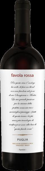 Fantini Sangiovese-Merlot Favola Rossa Puglia IGT