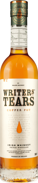 Writers Tears Copper Pot Irish Whiskey 40% vol.
