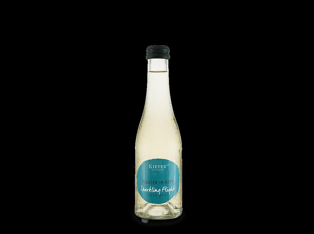 Weißwein Kiefer Secco Weiß Sparkling Flight Flausen im Kopf 0,2l Baden 17,45€ pro l