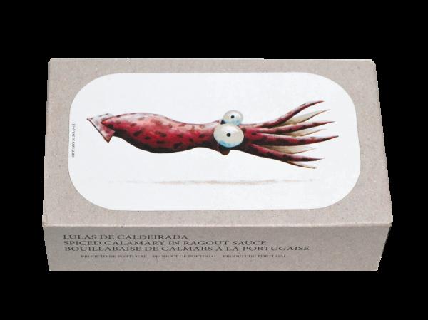 Jose Gourmet Gefüllter Tintenfisch in Ragoutsauce 120g/75g