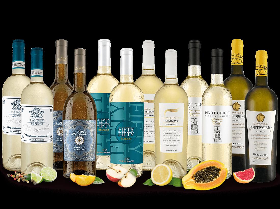Italienisches Weißwein Topseller Probierpaket8,33€ pro l