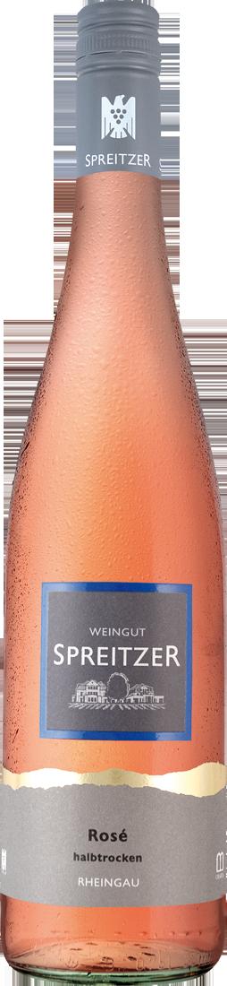 Roséwein Spreitzer Rosé halbtrocken QbA Rheingau 10,53€ pro l