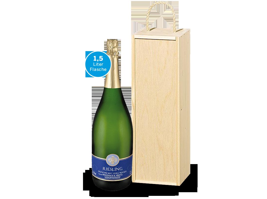 Weißwein Präsent Magnum-Sektgenuss vom Weingut Bretz21,93? pro l
