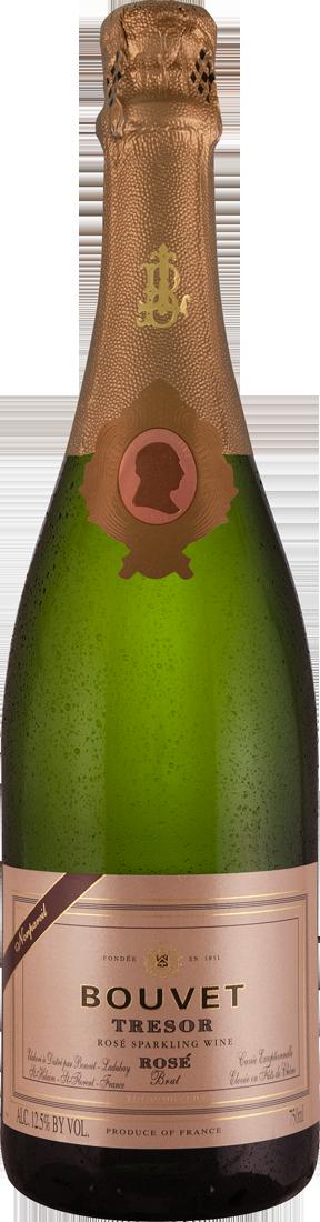 Weißwein Bouvet Ladubay Trésor Rosé Crémant de Loire Loire 21,99? pro l