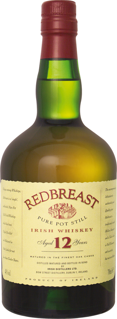 Pot Still Irish Whiskey 12 Jahre 0,7l63,70€ pro l