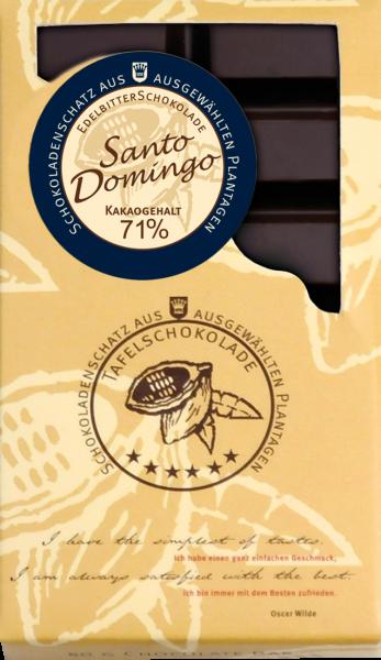DreiMeister Ursprungsschokolade Santo Domingo 50 g