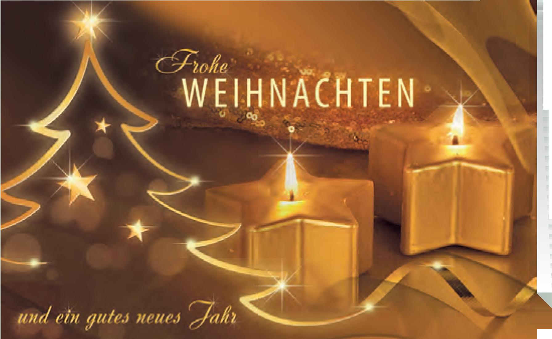 Grußkarte Weihnachten Magischer Kerzenschein jetztbilligerkaufen