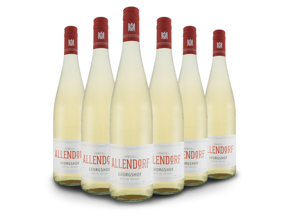 Vorteilspaket Allendorf Georgshof Riesling mit 6 Flaschen