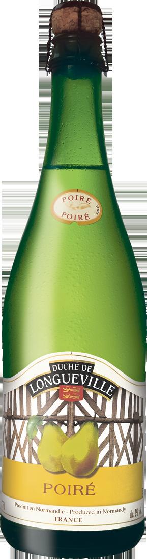Weißwein Birnencidre Duché de Longueville Poiré 2% vol. Normandie 5,85€ pro l