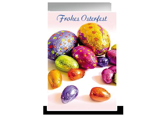 Grußkarte Osterfest
